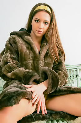 Nelly Nude Under The Coat